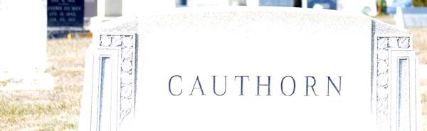 cauthorn - stone