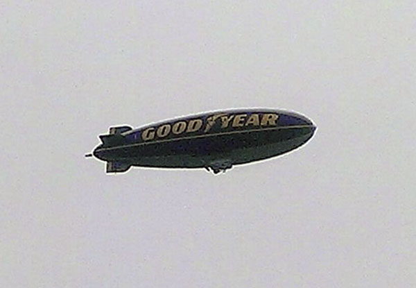 Another shot of the blimp