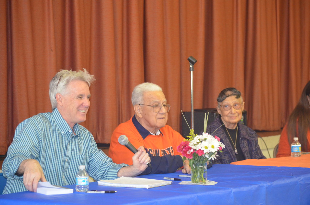 Morgan alumni book signing event