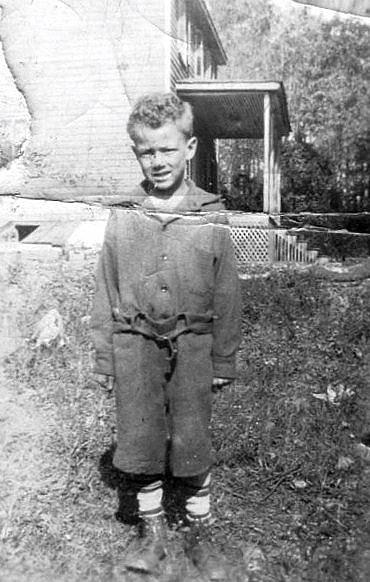 Warren Dorsey as a young boy in Sykesville